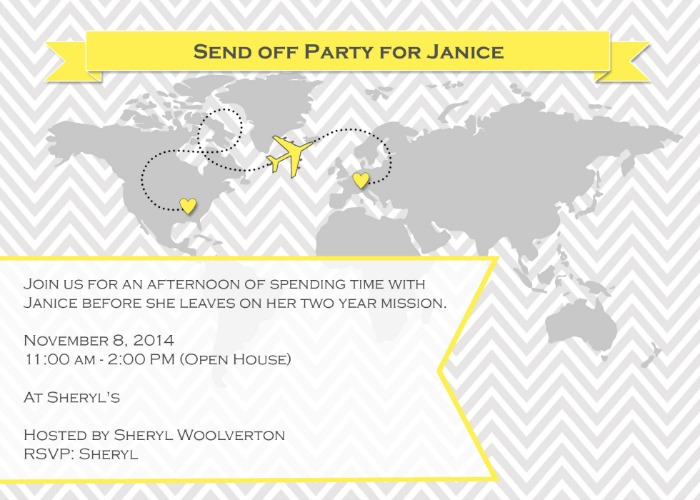 Youre Invited to A Send Off Party – Send Party Invitations